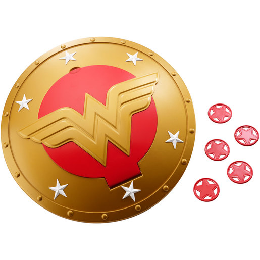DC Super Hero Girls Wonder Woman Shield Disc Fly