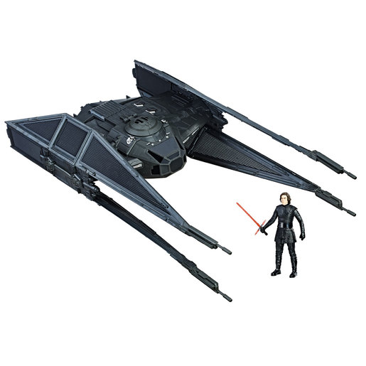 Star Wars Force Link Kylo Ren's Tie Silencer and Kylo Ren Figure