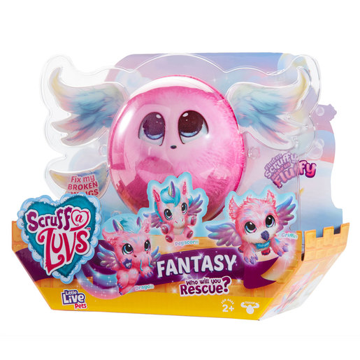 Little Live Pets Scruff-a-luv Fantasy Mystery Fantasy Animal (Style Vary)