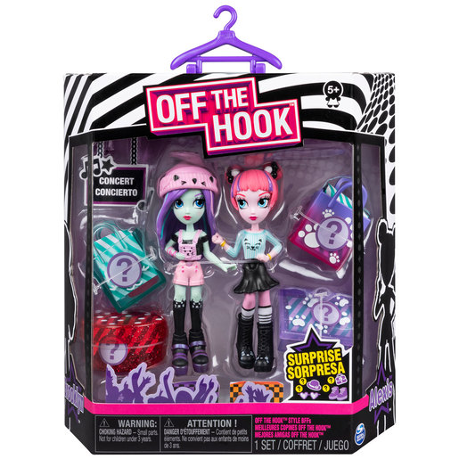 Off The Hook Style Concert Figures - Brooklyn and Alexis