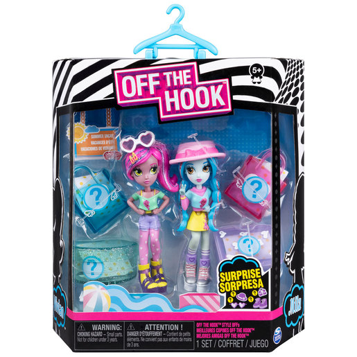 Off The Hook Style Summer Vacay Figures - Mila and Vivian