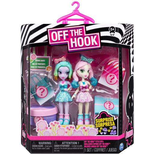Off The Hook Style Spring Dance Figures - Jenni and Naia