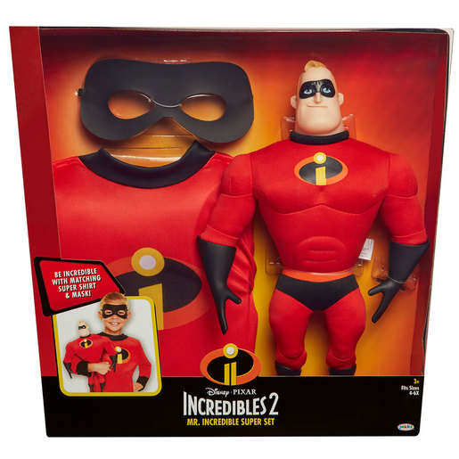 Disney Pixar Mr Incredible Super Set