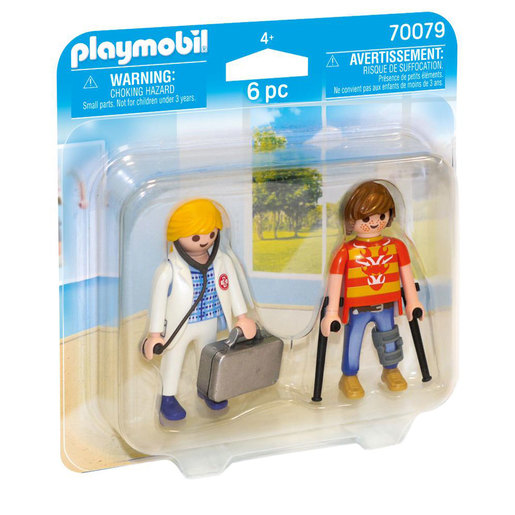 Playmobil 70079 Doctor and Patient Duo Pack