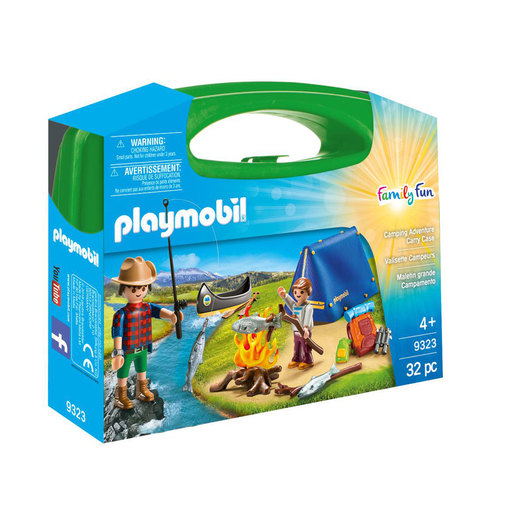 Playmobil 9323 Camping Carry Case