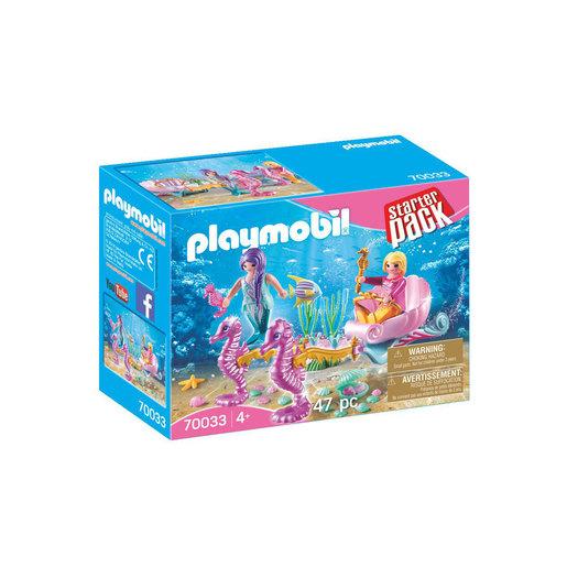 Playmobil 70033 Mermaids Seahorse Carriage Starter Pack