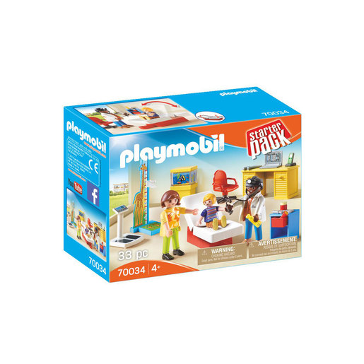 Playmobil 70034 City Life Children's Doctor Starter Pack
