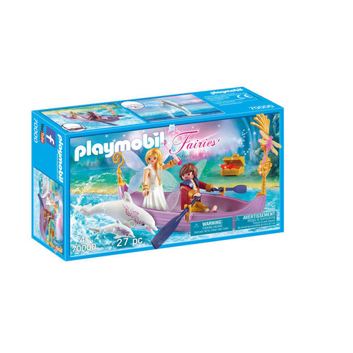 Playmobil 70000 Floating Fairy Boat with Dolphins