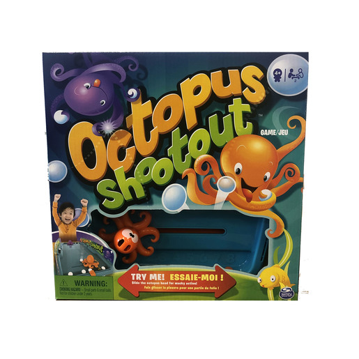 Octopus Shootout Game
