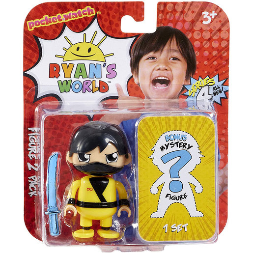 Ryan's World 2 Pack Mystery Figures (Styles Vary)