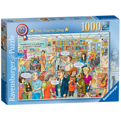 Ravensburger Best of British - The Charity Shop Puzzle - 1000pc