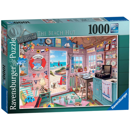 Ravensburger No.7 My Haven The Beach Hut Puzzle - 1000pc