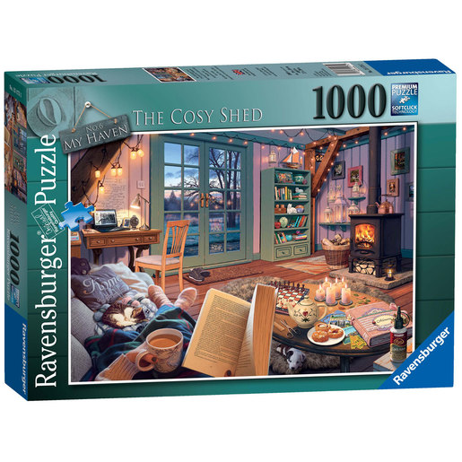 Ravensburger No.6 My Haven The Cosy Shed Puzzle - 1000pc