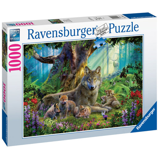 Ravensburger Wolves in the Forest Puzzle - 1000pc
