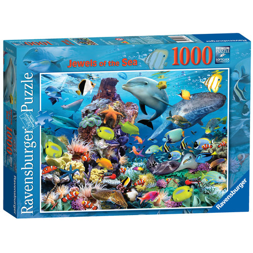 Ravensburger Jewels of the Sea Puzzle - 1000pc