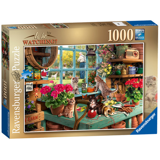 Ravensburger Is He Watching? Puzzle - 1000pc