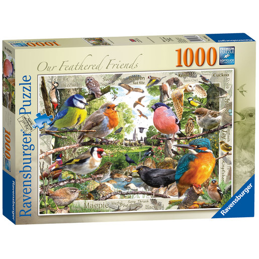 Ravensburger Our Feathered Friends - 1000pc