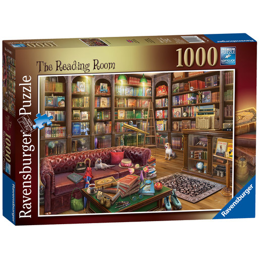 Ravensburger The Reading Room Puzzle - 1000pc