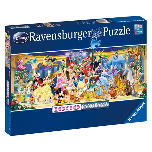 Ravensburger Disney Panoramic Puzzle - 1000pc