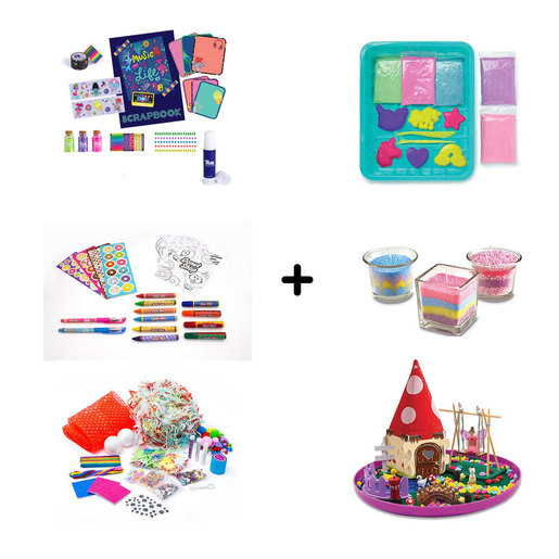 Arts and Crafts Bundle - 6 Pack
