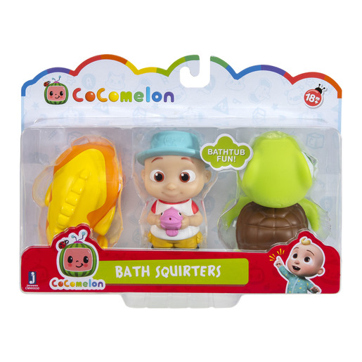 CoComelon Bath Squirters - JJ, Fish and Turtle