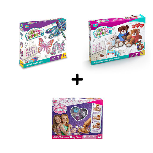 Arts and Crafts 5 Years+ Bundle - 3 Pack from TheToyShop