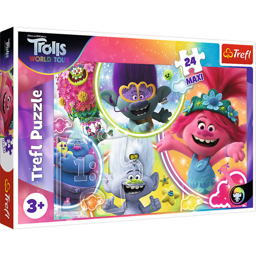 Trefl DreamWorks Trolls World Tour Maxi Puzzle - 24pcs.