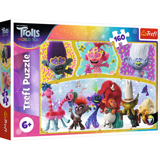Trefl DreamWorks Trolls World Tour Puzzle - 160pcs.