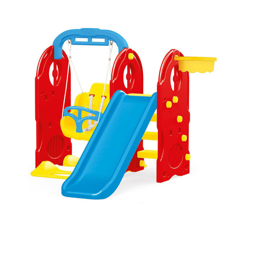 Dolu 4 In1 Indoor & Outdoor Playground Frame (H124cm)