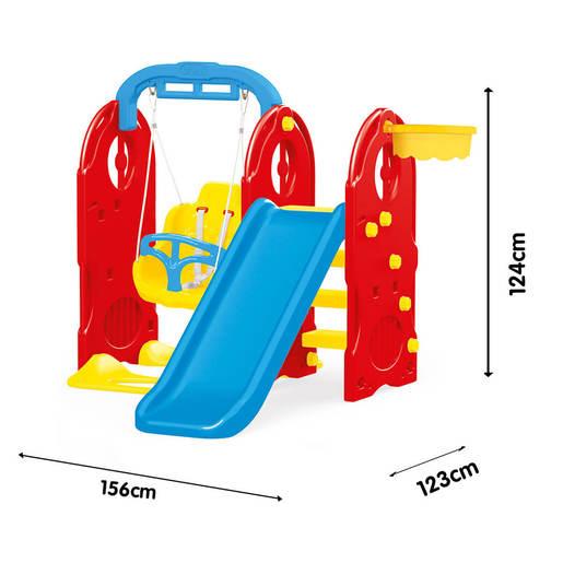 Dolu 4 In 1 Playground H124cm X L156cm X W123cm