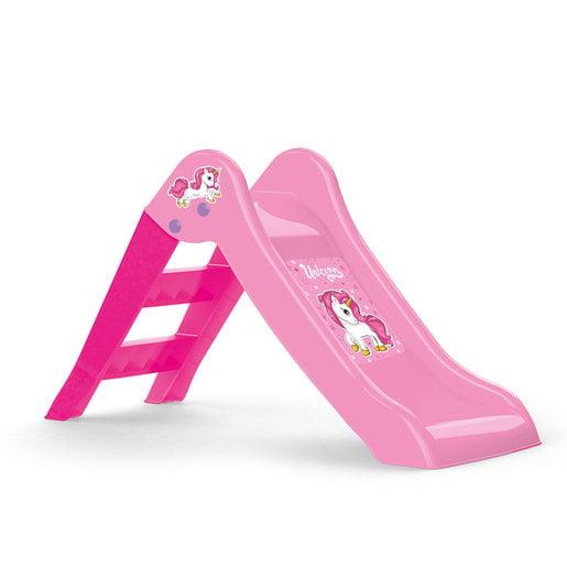 Dolu My First Unicorn Pink Garden Slide   Foldable (H70cm)