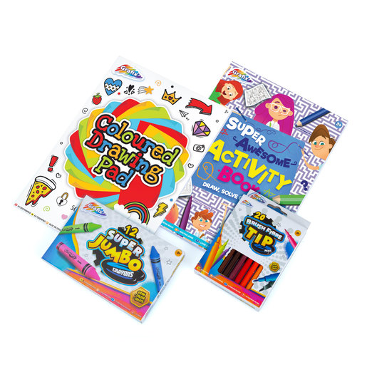 Grafix Drawing Bundle - 4 Pack