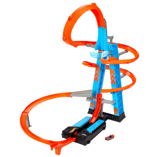 Hot Wheels Action Sky Crash Tower Playset