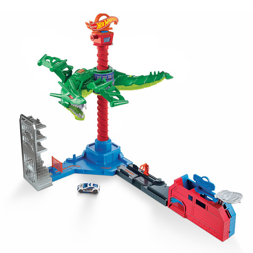 Hot Wheels Air Attack Dragon Playset