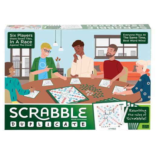 Scrabble Duplicate Game