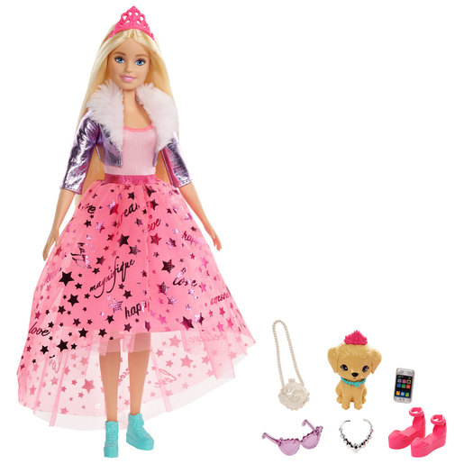 Barbie Princess Adventure Doll - Blonde Hair