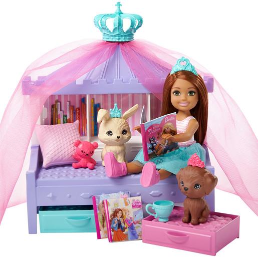 Barbie Chelsea Princess Playset   Blue Skirt