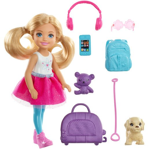 Barbie Chelsea Travel Playset