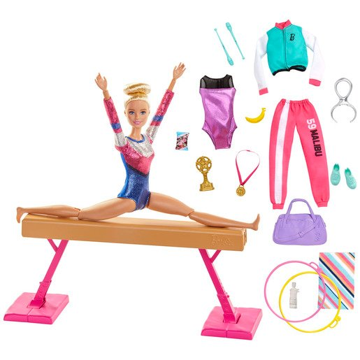 Barbie You Can Be Anything - Gymnast