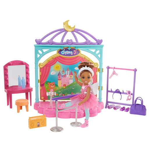 Barbie Chelsea Club Ballet Playset