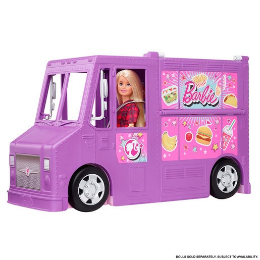 Barbie You Can Be Anything Food Truck