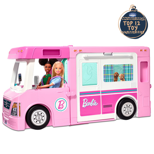 Barbie 3-In-1 Dreamcamper Playset