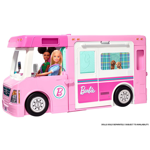 Barbie 3 In 1 Dreamcamper Playset