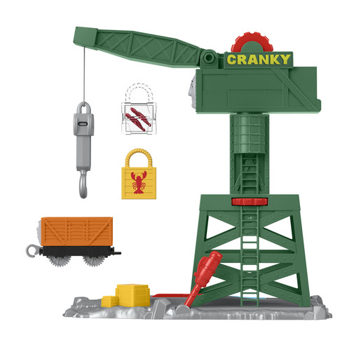 Fisher-Price Thomas & Friends Cranky the Crane Playset
