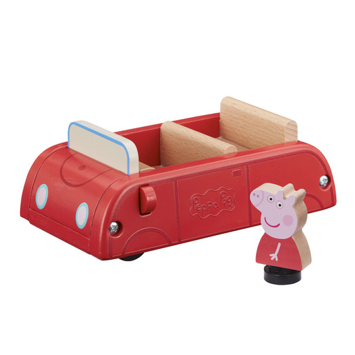 PEPPA WOOD CAR & FIG  A20