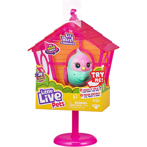 Little Live Pets Lil' Bird and House - Pippa