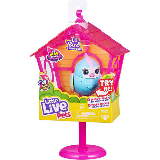 Little Live Pets Lil' Bird and House - Rainbow