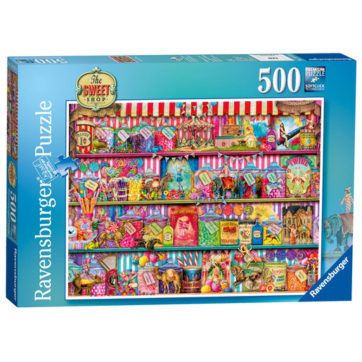 Ravensburger The Sweet Shop Puzzle - 500pc