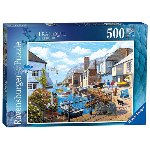 Ravensburger Tranquil Harbour Puzzle - 500pc