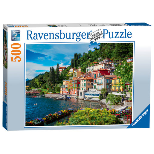Ravensburger Lake Como, Italy Puzzle - 500pc